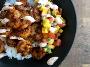 Blackened Shrimp Bowl