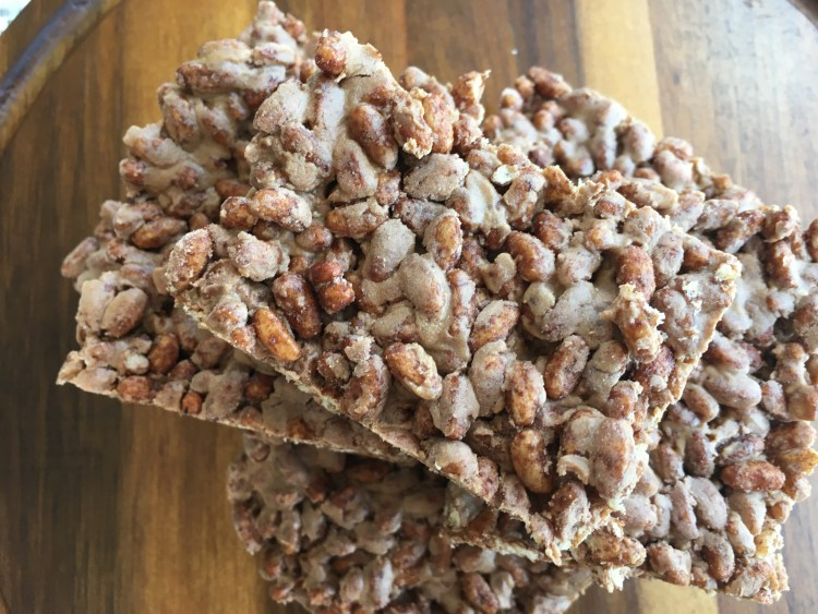Protein Rice Krispy Treats - Cooking Up Happiness
