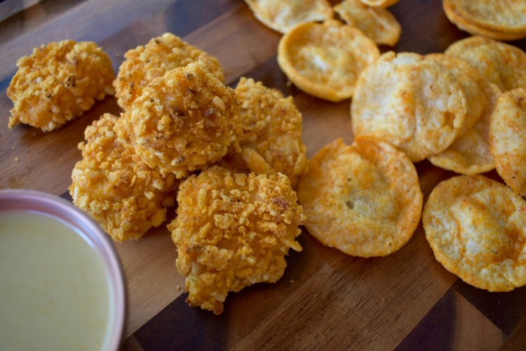 Healthy POPcorn Chicken Bites - Cooking Up Happiness