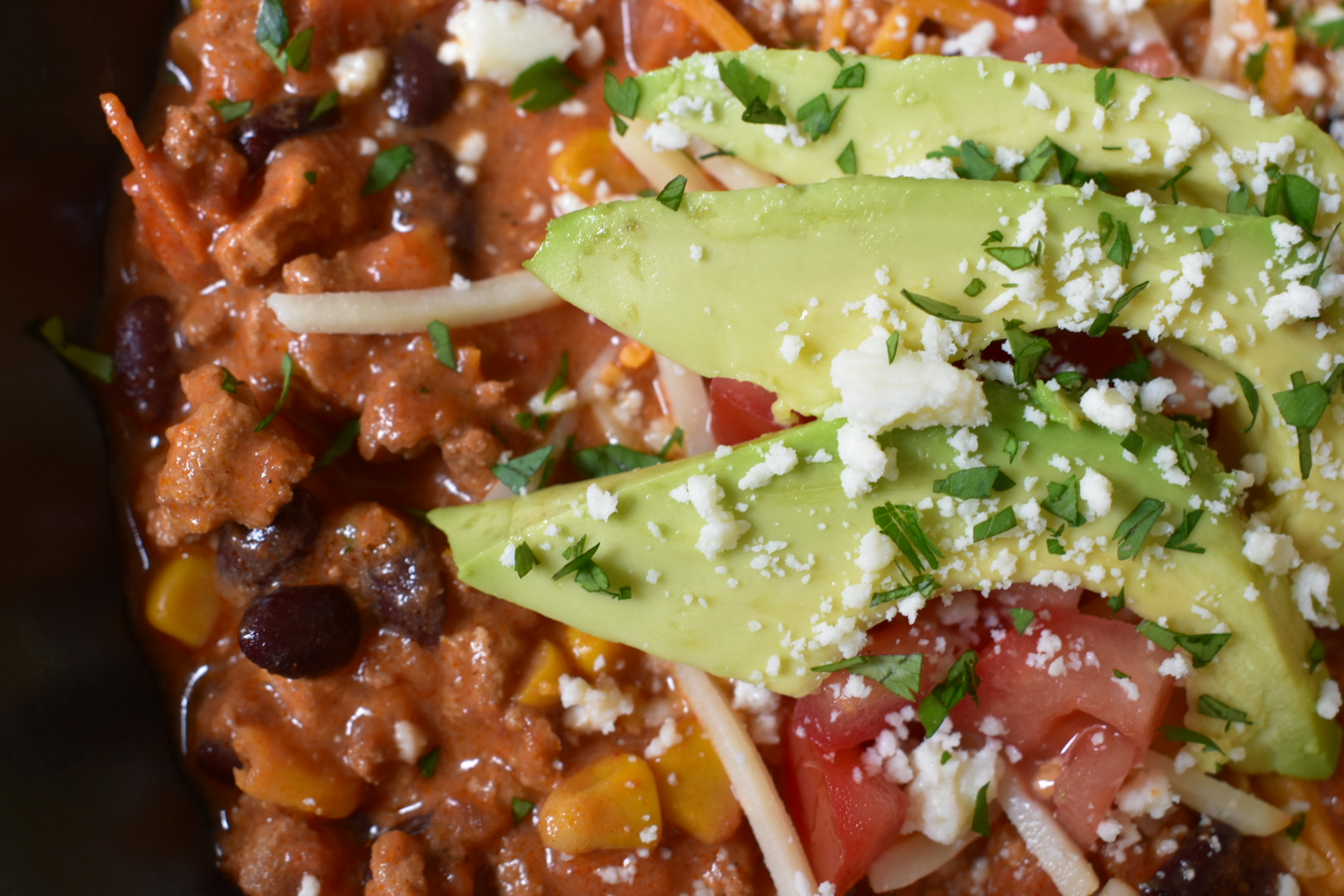 Healthy Spicy Chicken Chili - Cooking Up Happiness