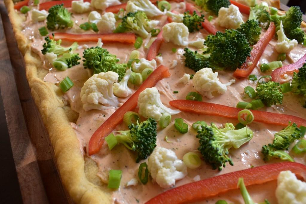 Sriracha Veggie Pizza