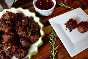 Holiday Turkey Meatballs