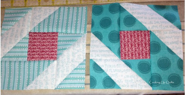 Making the Metro Mod quilt block