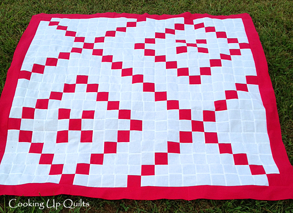 Hugs & Kisses Quilt Top Flimsy Finished