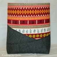 WIP – Another Zippered Tote