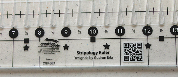 Stripology ruler