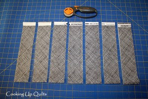 Cutting Binding Strips and Ruler Review