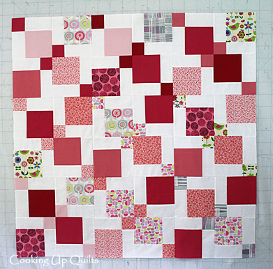 Scrap Baby Quilt - Disappearing Nine Patch