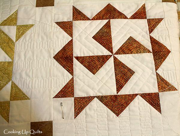 Quilt Detail Twirl Quilt