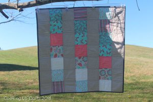 MCM #14 – Easy Baby Quilt Finish