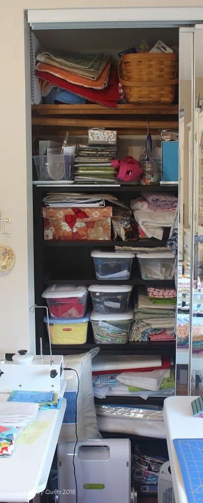 Scrap Closet - Before Pic