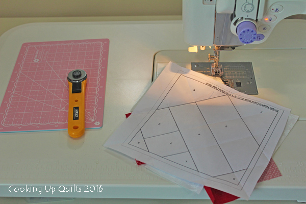 Paper Piecing cutting mat