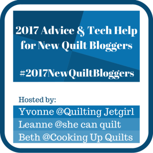 New Quilt Bloggers Blog Hop