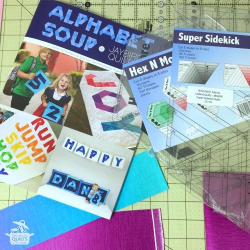 alphabet soup pattern book