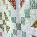 Checkered Past quilt by Beth Sellers of Cooking Up Quilts