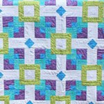 Floating quilt by Beth Sellers of Cooking Up Quilts