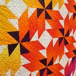 Spinning Ombre quilt by Beth Sellers of Cooking Up Quilts