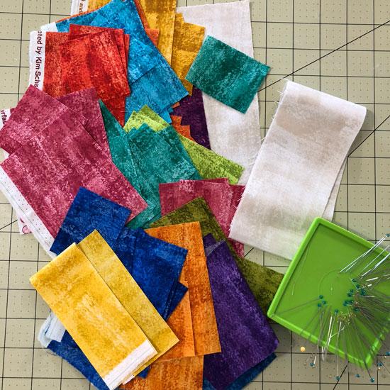 Brushline fabrics from Andover Fabrics