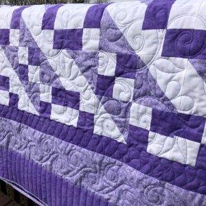 Dee's Lavendar Quilt