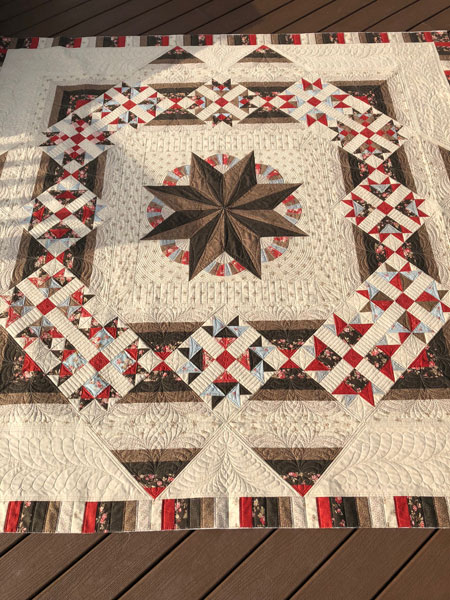 Custom Quilting by Beth Sellers of Cooking Up Quilts