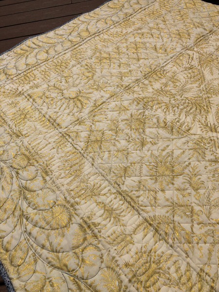 Quilting by Beth Sellers of Cooking Up Quilts