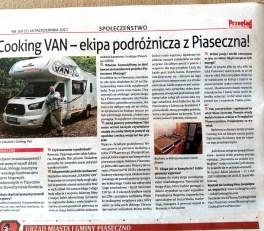 Cooking Van - Przegląd Piaseczyński - wywiad