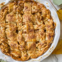 Honey Pear Pie