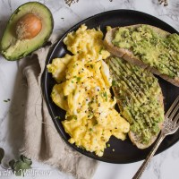 Slow Scrambled Eggs with Everything Spice