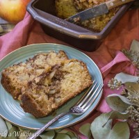Chai Spiced Apple Loaf Cake
