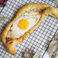 Khachapuri, a Georgian Cheese Bread