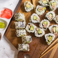 California Style Tuna Roll