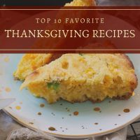 Top 10 Favorite Thanksgiving Recipes 2020