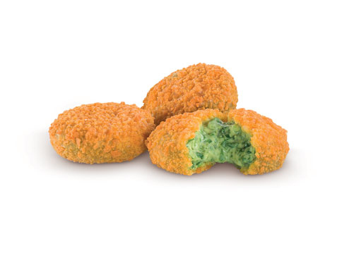 15. Spinach & Parmesan Nuggets - McDonald's, Italy