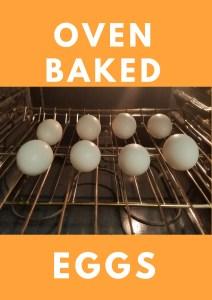 oven eggs baked