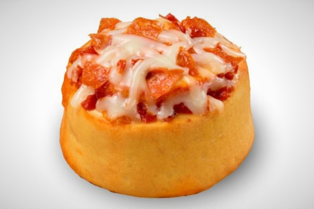 19) Cinnabon Pizzabon - Compared to some of these other items, this seems so small and cute.