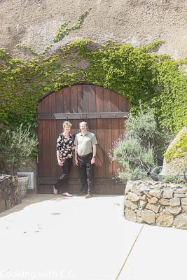 Entrance To Amizetta Wine Cave