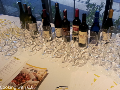 Wines For The Preview Tasting