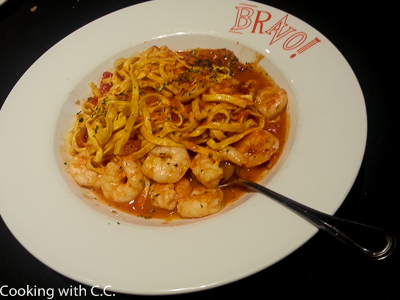 Spicy Shrimp + Clam Linguine