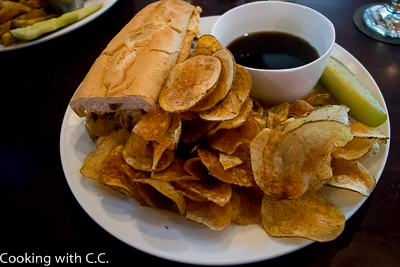 French Dip Sandwich with House Chips