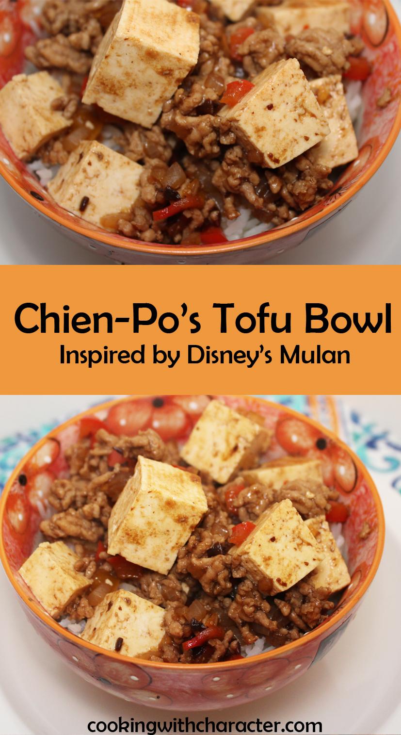 chien-po tofu bowl