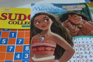 Disney Puzzle and Coloring Books