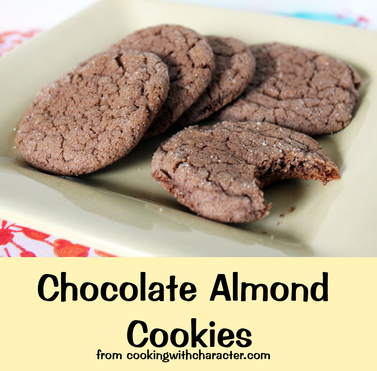 Chocolate Almond Cookie