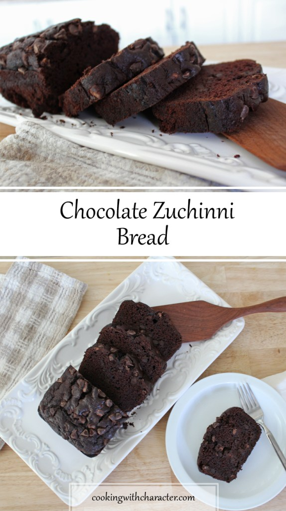 Chocolate Zuchinni Bread
