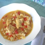 Boma Inspired Coconut Curry Chicken Soup