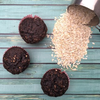 Healthy & Cheap Chocolate Banana Muffin Recipe