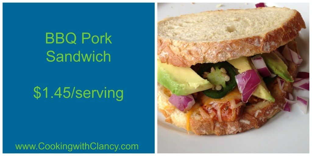 Make Ahead BBQ Pulled Pork Sandwich