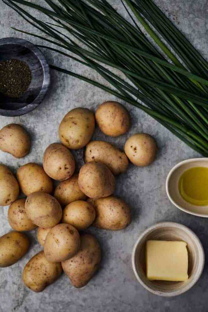 Instant Pot Smashed Potatoes Ingredients