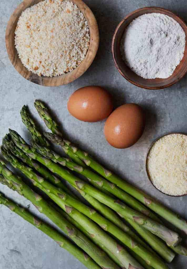 Asparagus Fries Ingredients
