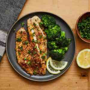 Spicy Lemon Garlic Tilapia
