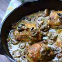 Chicken au Champagne